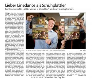 Artikel Schwäbisches Tagblatt (08.10.2014)